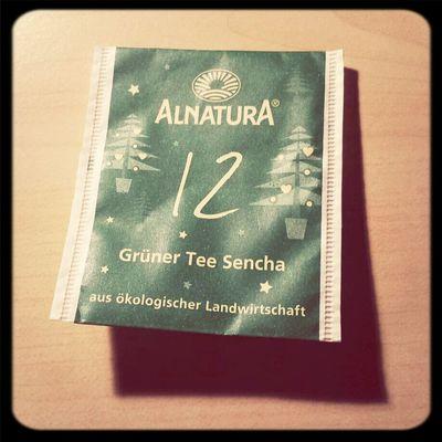 Viel besser als normaler Grüner!Schmeckt nicht so bitterlich... Tea ALNATURA