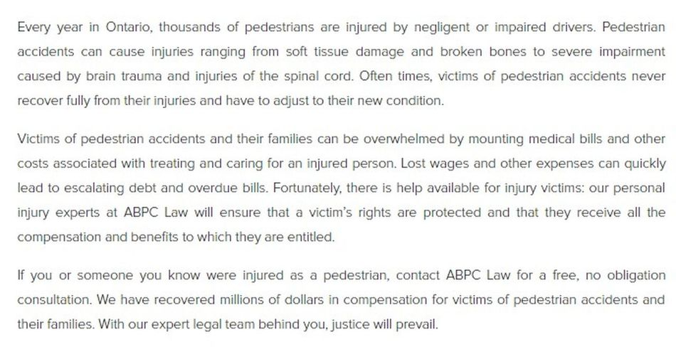 ABPC Personal Injury Lawyer 202-450 Bronte St S Milton, ON L9T 5B7 (289) 270-2419 https://abpclaw.ca/milton-personal-injury-lawyer.html Injury Lawyer Milton Milton Injury Lawyer Milton Personal Injury Lawyer Personal Injury Lawyer Milton Personal Injury Lawyer Milton ON