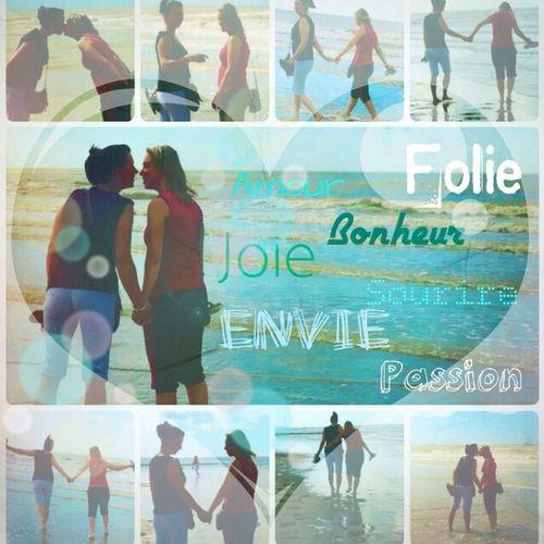 juste de l'amour... LoveBeach Sky And Sea Beach