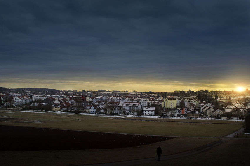 City Sunset Sun Landscape Travel Destinations Cityscape OutdoorsDay Sky Taking Photos Relaxing Germany Sunlight Photography Hello World Nature Cloudy Pentax K-3 K3_ii Relaxing Beauty In Nature Magstadt