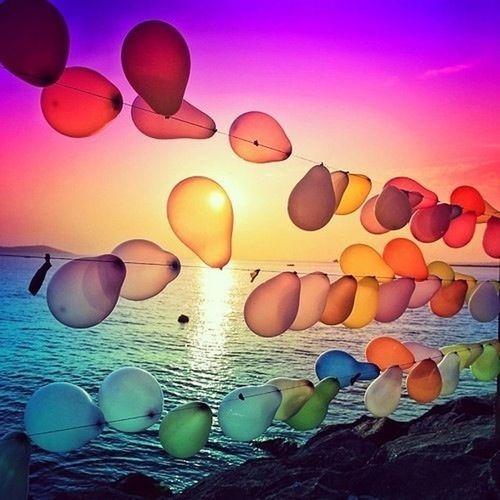 Sky And Ballons