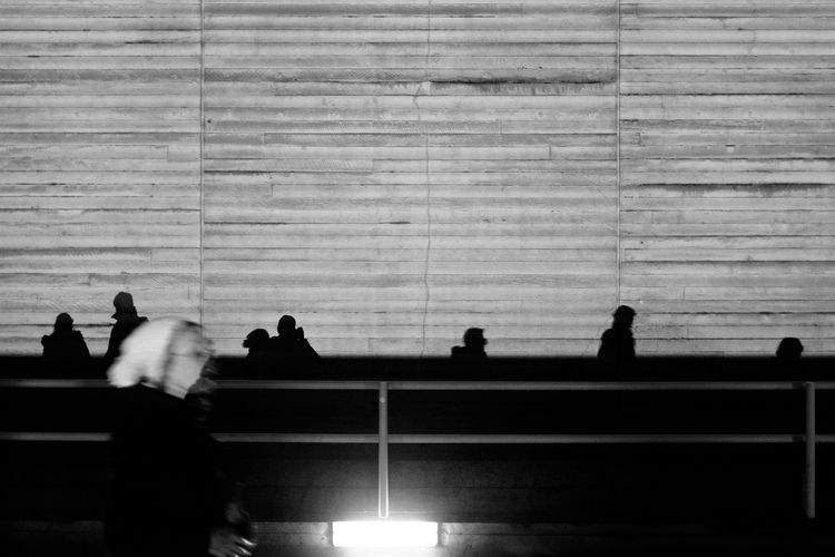 But I'm a million different people, wearing masks London VSCO Adult Adults Only Architecture Day Indoors  Large Group Of People Leisure Activity Lifestyles Lumiere London Lumière Men People Real People Silhouette Sitting Standing Vscofilm Walking Women