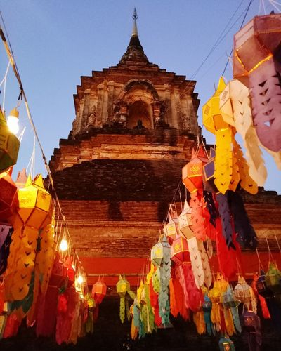 #chiangmai #loykrathong Place Of Worship Religion Pagoda Business Finance And Industry Architecture Sky