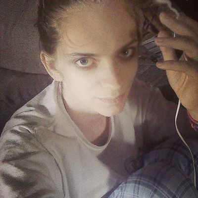 Blue eyed girl!!