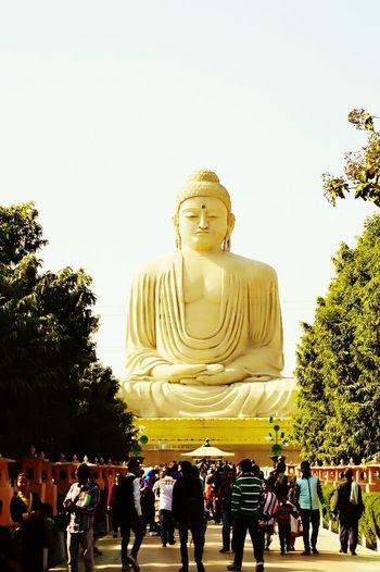 Buddhism Buddha Statue Bodhgaya