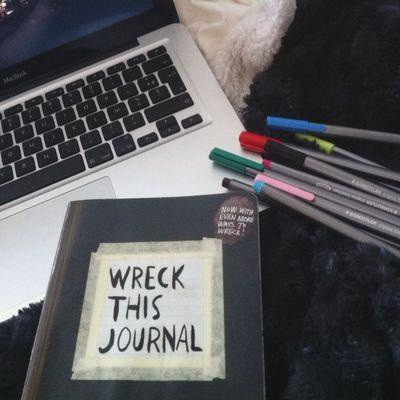 wreck baby Wreckthisjournal