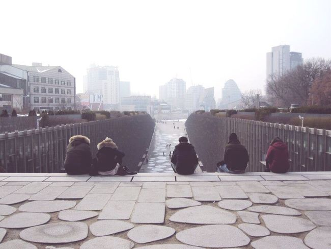 Feel The Journey Ewha Womans University in Seoul, Korea People And Places Shades Of Winter