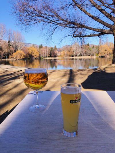 Lake Drink Day