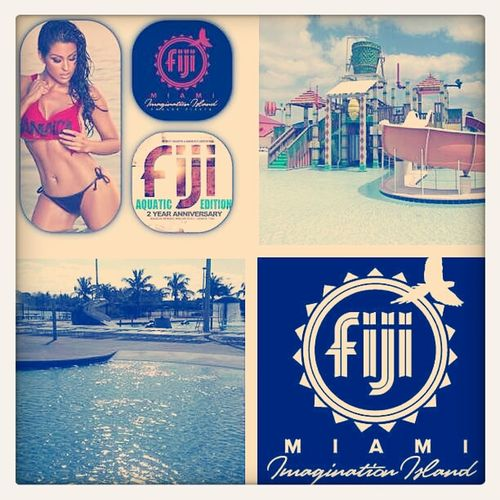 No matter how many haters or imitators,#Fiji will always be the only #coolerevent that stands out. #Fiji #springbreak2013 #waterslides #paddleboats #detoxbar #coolers #aflyguy #southbeachlife #walshyfire #majorlazer #live #nextlevel #fun #food #liquor #do