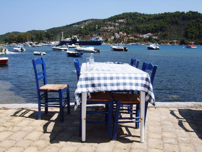 Greece Skiathos Restaurant Meer Hafen GREECE ♥♥