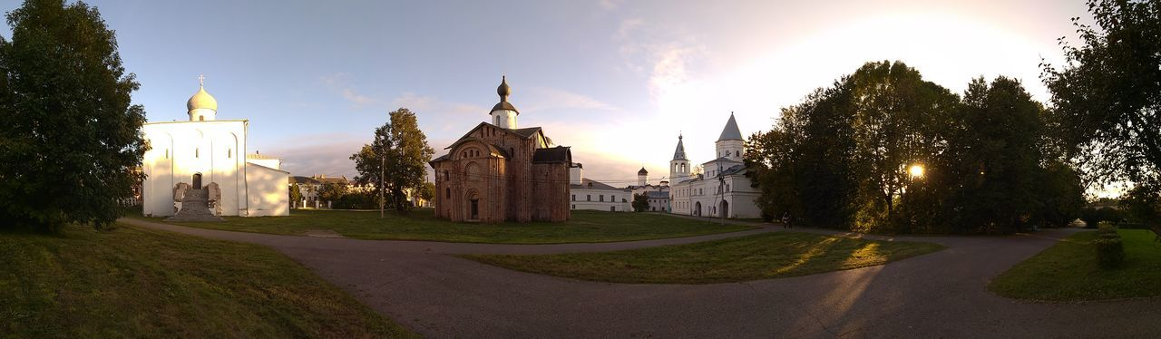 Panoramic Novgorod NovgorodtheGreat Landscape History Architecture Religion Sunset Tree Autumn