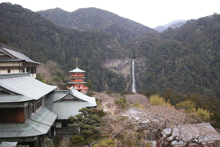青岸渡寺 seigantoji Beauty In Nature Kumanokodo Mountain Nachitaisha Nature Seigantoji Taisha Temple 熊野古道 那智大社 青岸渡寺