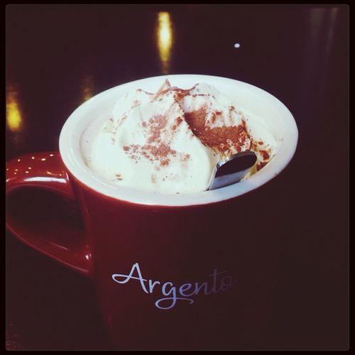 Tiramisu Latte Argento Cafe ☕