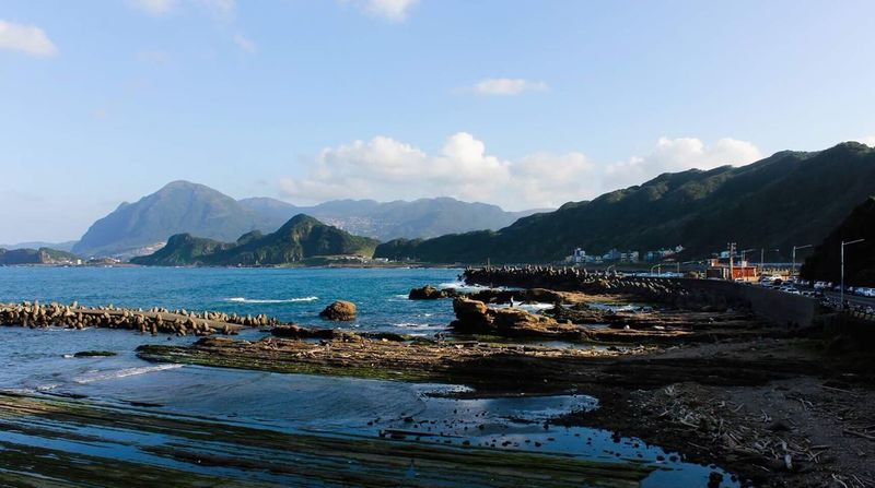 Keelung Keelung Taiwan Mountain Sea And Sky Sea Seascape Outdoors Beauty In Nature Water Sky Nature Taiwan Taipei 基隆 台灣 台北 八斗子 Lost In The Landscape