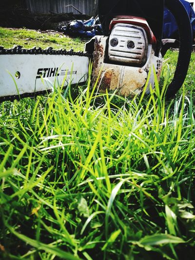 Grass No People Day Outdoors Stihl Works