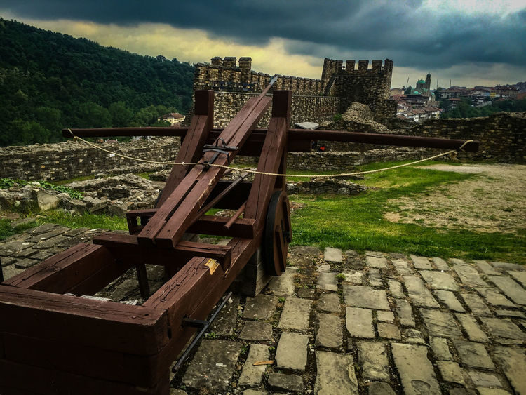 The Great Outdoors With Adobe Adobe Beliko Ternovo EyeEm Best Shots My Favorite Photo Showing Imperfection Castle X-bow Xbow Defense Old Weapon Ancient Civilization Bulgaria The Great Outdoors - 2016 EyeEm Awards