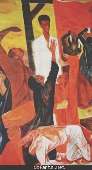 ... ه المذنب.لا يترك محالٍ أن يوارده في تلبيس العفو والسمح،إلا من بعد اعتراف أول دم ذمه ارتكبه بالسياف والضمر. و عند إشعال الشِّهابْ في ضوءُ فؤادهِ المحجر،يزداد الحطب من أحطاب الأنس والجن. فليتمس عفوية الأنس قبل الجن، فإن الجن مروجاً حزوات النارية.فهذا الحكم الوارد عليه تحت خشبة البتر، ليس من أقدار الترابين ، بل من سماوية الإلهية والتي تزل بآية القصاص،حتى عبرةً لمن يمشي في الأرض بالصعر والكبر والطغي. الفن العربي الأدب العربي الكويت Artist