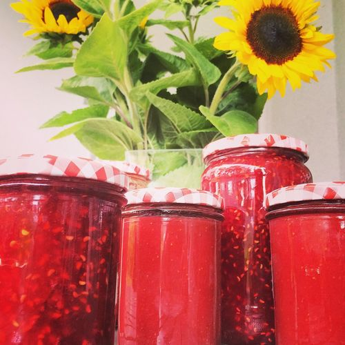 Strawberry and Raspberry Jam ???? First Time Making Jam