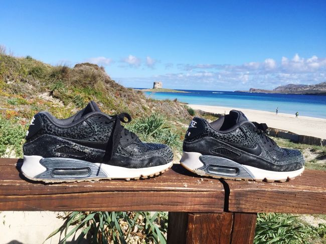 Sky Sea Nature Beauty In Nature Day Water Blue No People Scenics Tranquility Horizon Over Water Outdoors Growth Beach Nike Nikeairmax Airmax Stintino Tower Sardegna