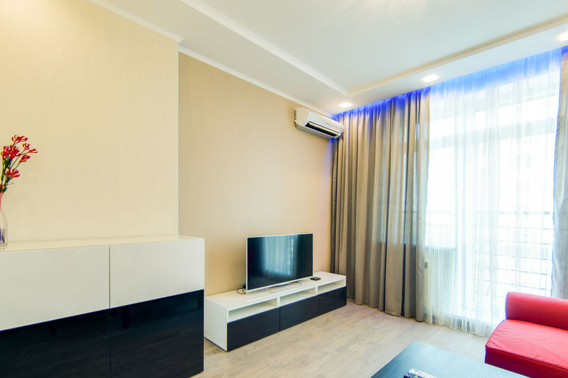Indoors  No People Empty Modern Flooring Architecture Wall - Building Feature Domestic Room Seat Absence Home Showcase Interior Furniture Home Interior Design Technology Window Luxury Built Structure Lighting Equipment Wall Ceiling