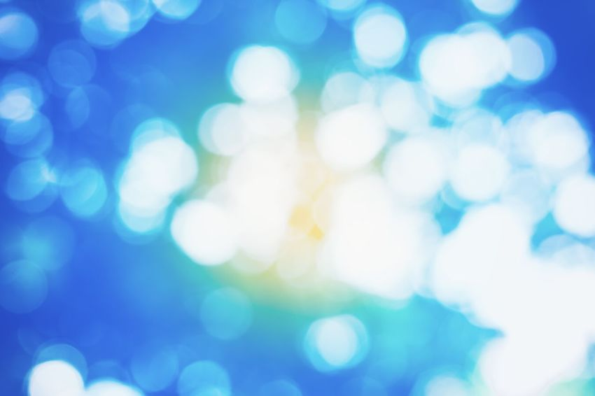 Blue Backgrounds Bokeh Bokeh Photography Light Light - Natural Phenomenon Bright Nature Outdoors