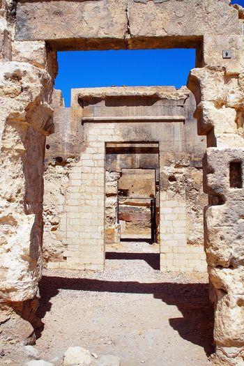 Old ruin building