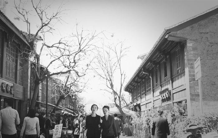 Monochrome China Blackandwhite Black & White