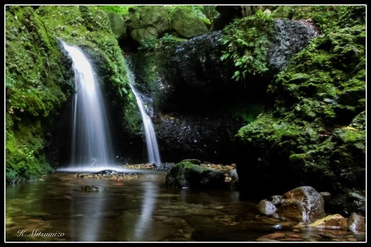 Arita Ryumonkyou small waterfall 佐賀 有田 竜門峡 滝 Waterfall Enjoying Life Nature Photography Tadaa Community Landscape 黒髪山 Arita