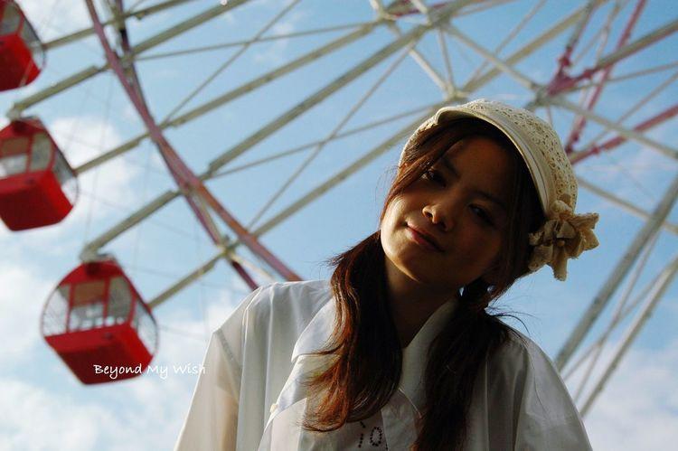 Japanesegirl Color Portrait Japan Ferris Wheel Kariya