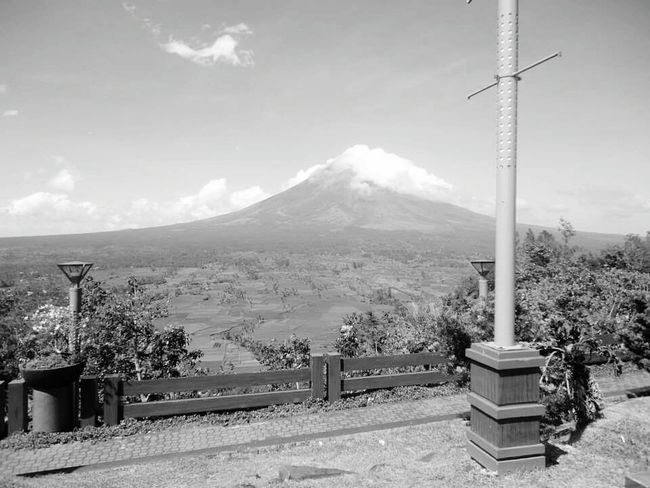 Mountain Mayonvolcano Perfect Cone Cloud - Sky Day Nature Beauty In Nature Itsmorefuninthephilippines