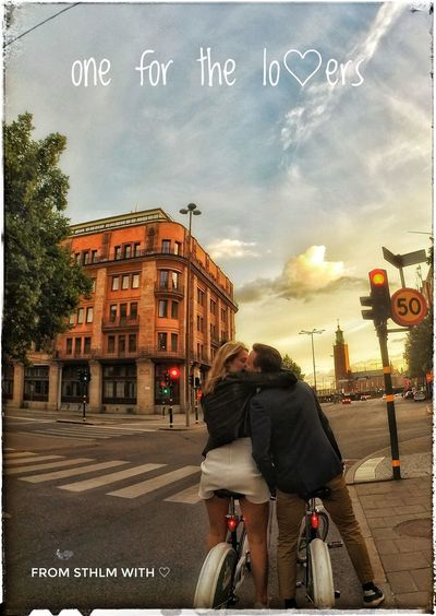 Sthlmstreet Sthlm❤ Onelove❤️ Whatsnottolove People Cloud - Sky Bicycle EyeEmNewHere