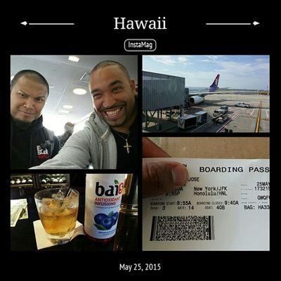 We out. Hawaii are you ready. Nycalive Makoasquad Hawaiicon Flight randomtrips ballerlife youready hawaii honolulu mahalo itsgoingtogetcrazy longflight ihateflying welive liveeveryday bigassplane
