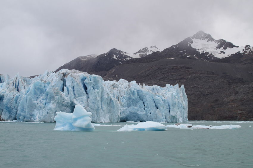 Chile Cold Glacier Lago O'higgins Nature Patagonia Physical Geography Power In Nature Remote Tranquil Scene Tranquility Aysen