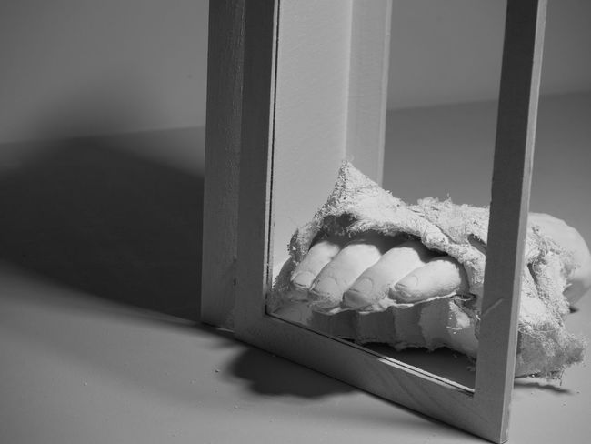 Indoors  Close-up Brutal Brutalism Textured  Inanimate Still Life Art Sadness Sad Beautiful Arts Culture And Entertainment Sculpture Art And Craft Statue Human Representation Texture Hand Body Part EyeEmNewHere