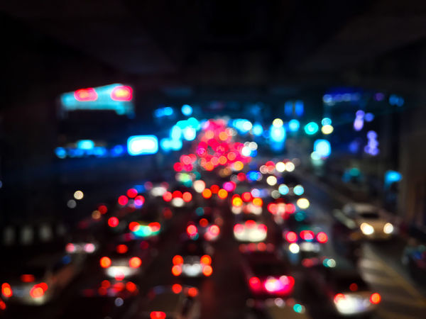 Blur and bokeh of traffic jam and many car on night at Bangkok Traffic Traffic Jam Traffic Jam In Bangkok Blur Bokeh Christmas Decoration Close-up Defocused Illuminated Lighting Equipment Many Cars Multi Colored Night No People Outdoors Traffic Jam City Traffic Jams Traffic Lights