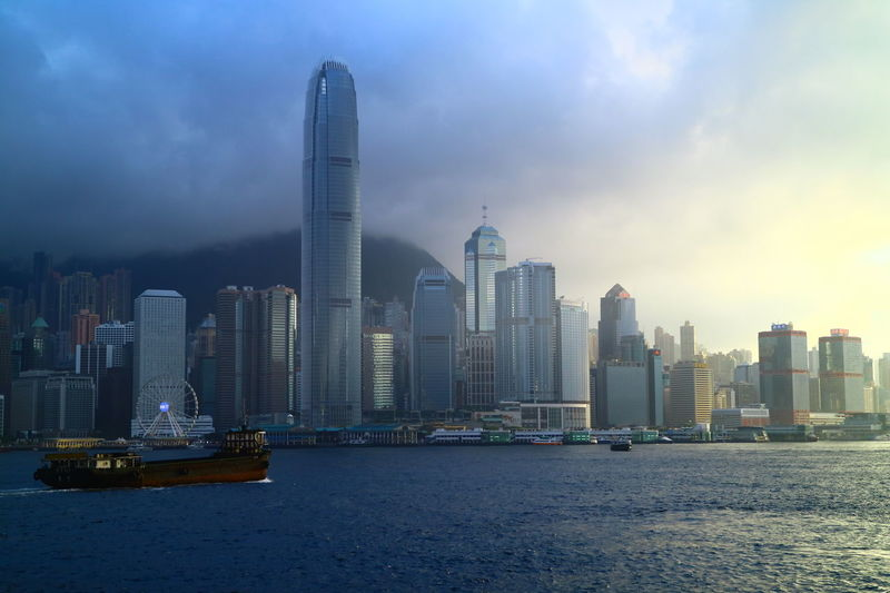Architecture Evening Amazing Architecture Discoverhongkong Victoria Harbour Hong Kong Island Building Cityscapes Ships Tadaa Community Hello World Love Is In The Air Cityscape Atomosphere Victoriaharbour Ship Harbour The Architect - 2017 EyeEm Awards