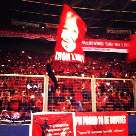 The Real Iron Lady. AnneWilliam JFT96 Lfctour INDONESIA