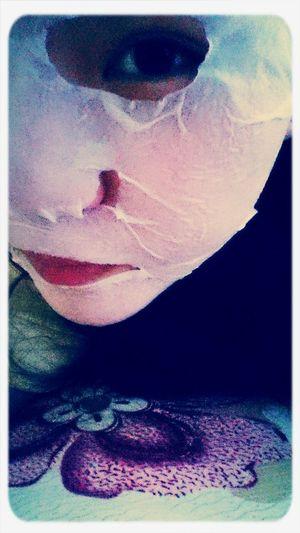 Midnight. Movie & Skincare night.