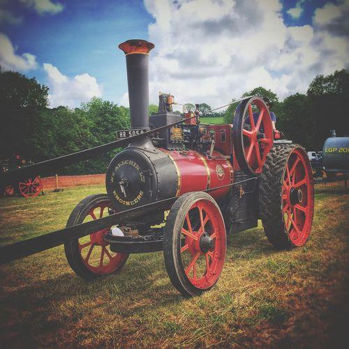Steam Engine Upton Cork Ireland Old Old Fashioned Old Times Steam Engine