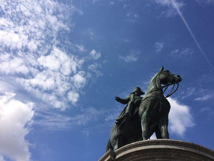 2016 Sculpture Statue Napoleon Bonaparte Cloud - Sky Monument Culture No People Day Place Napoléon Vendée