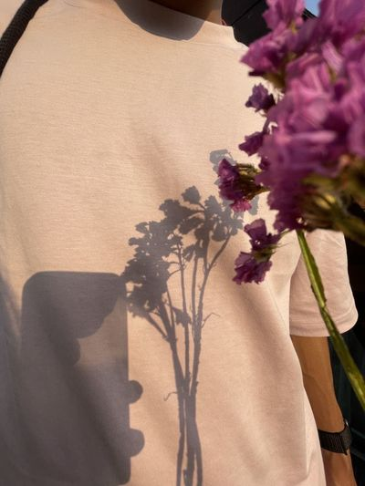 Close-up of flower vase on plant