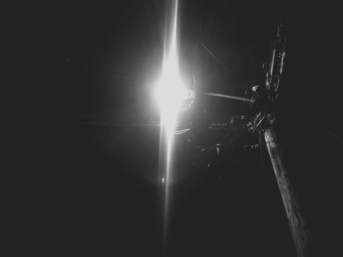 Street Light (Grayscale) Getty Images Light Light And Shadow Photography HuaweiP9 Leicacamera Caribbean Skill  Angle Weather Night Wet No People Illuminated Water Indoors