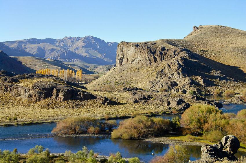 Patagonia - Argentina Argentina Landscape Mountain Mountain Range Nature Patagonia Poplar River