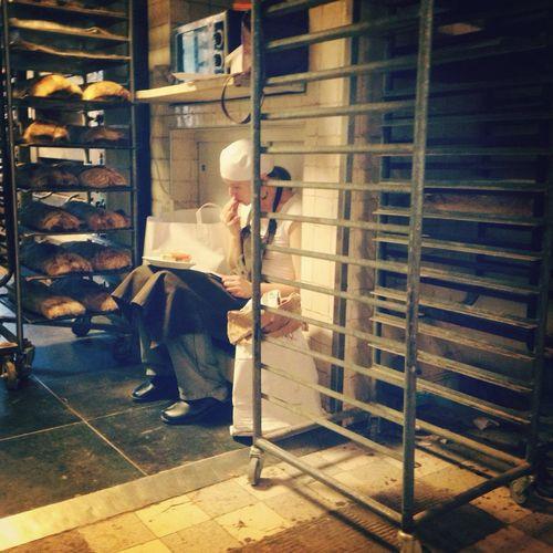 The Calmness Within Bakery Fresh Bread Eating