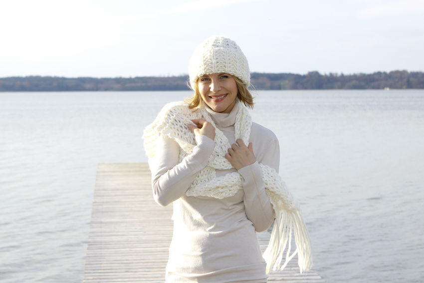 Blonde middle-aged woman on an autumn walk at the lake, portrait Autumn Walk Adult Adults Only Day Happiness Lake Lakeside Leisure Leisure Activity Lifestyles Looking At Camera Middle Aged Nature One Person Outdoors People Real People Sky Smiling Warm Clothing Water Women Young Adult Young Women