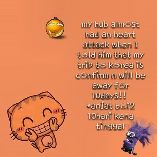 Don't worry sayang Mfarokomar , u will be juz fine! Thelongestdaysweareapartsincewegotmarried Countingdown 23mar2014