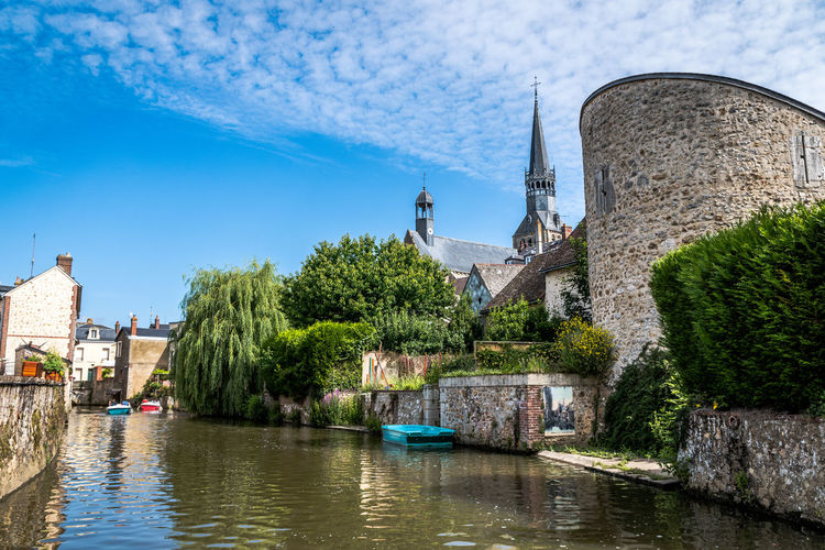Architecture Building Building Exterior Built Structure Canal Day History Nature No People Old Outdoors Place Of Worship Plant Religion Sky The Past Tower Travel Destinations Tree Water
