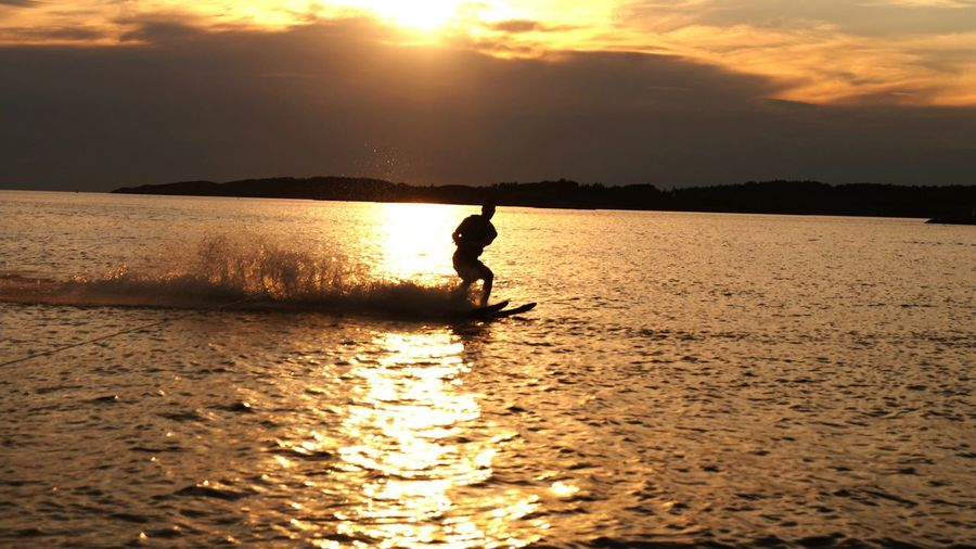 Summertime Check This Out Enjoying Life Waterski Watersports Sunset Silhouettes Sunset Boat Ride Summerof2016 Cool Pic Seaside Sports Sports Photography Canon Canonphotography EyeEm Team EyeEm Best Shots Perfect Moment Capture Moments
