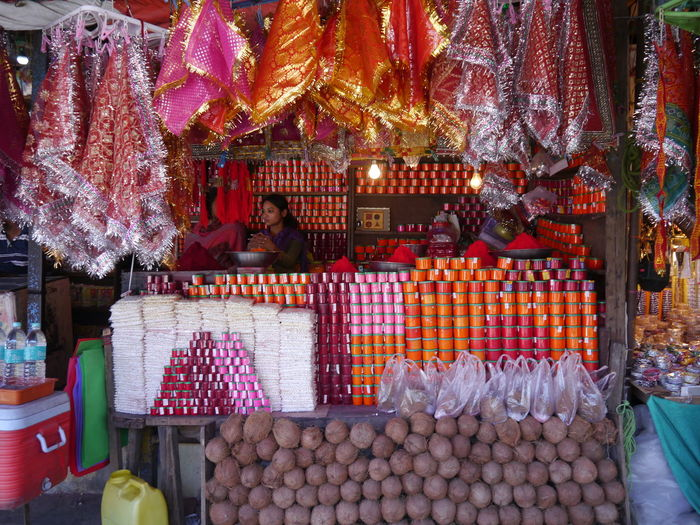 Choice Day Gujarat India Local Market Market Market Stall Outdoors Retail  Tradition Vadodara Adapted To The City