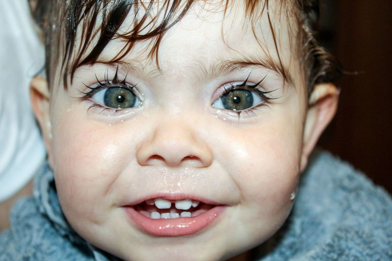 Those Eyes though! Babygirl Child Daughter Smile Teeth Beautiful Heartmelting MyGIRL Portrait Child Childhood Human Face Headshot Looking At Camera Cute Children Only Innocence One Person Baby Blue Eyes Close-up Human Eye People Hazel Eyes